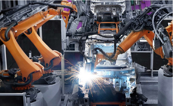 robotic car manufacturing